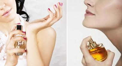 Way To Apply Perfumes